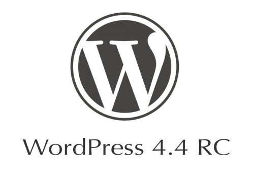 WordPress 4.4 RC