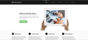 WhiteBlack Webseiten-Theme