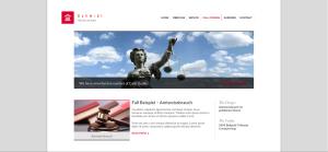 Anwalt Webseite