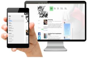 Content management system - SFW-Media
