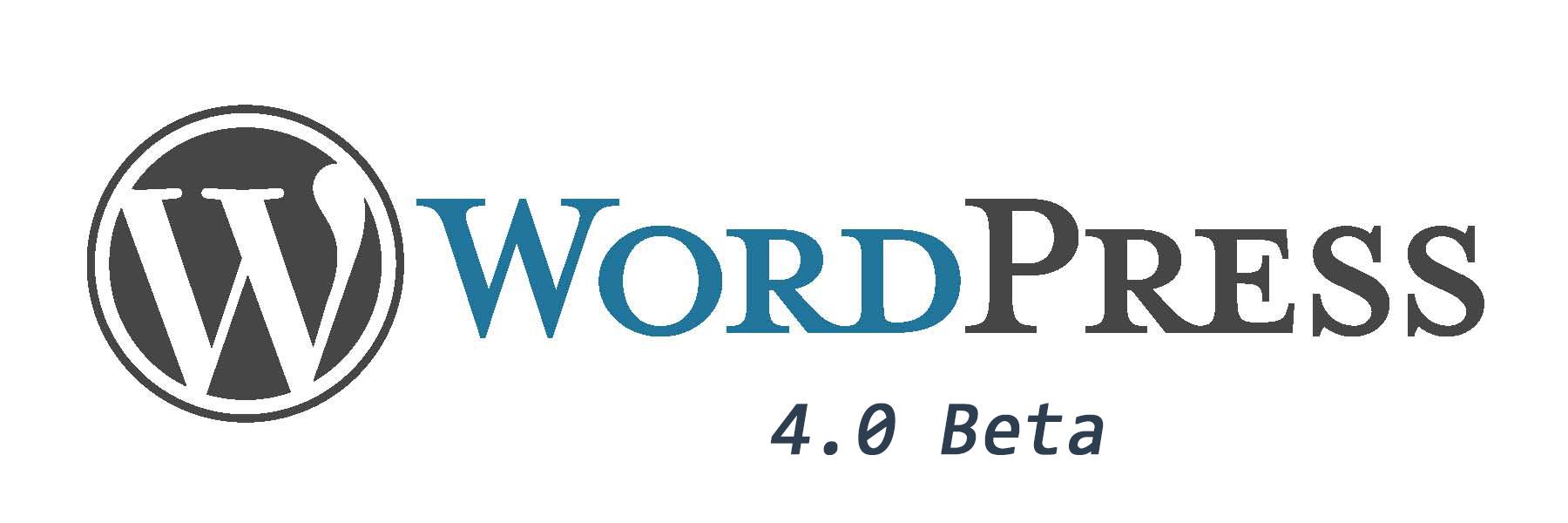 WordPress 4.0 beta